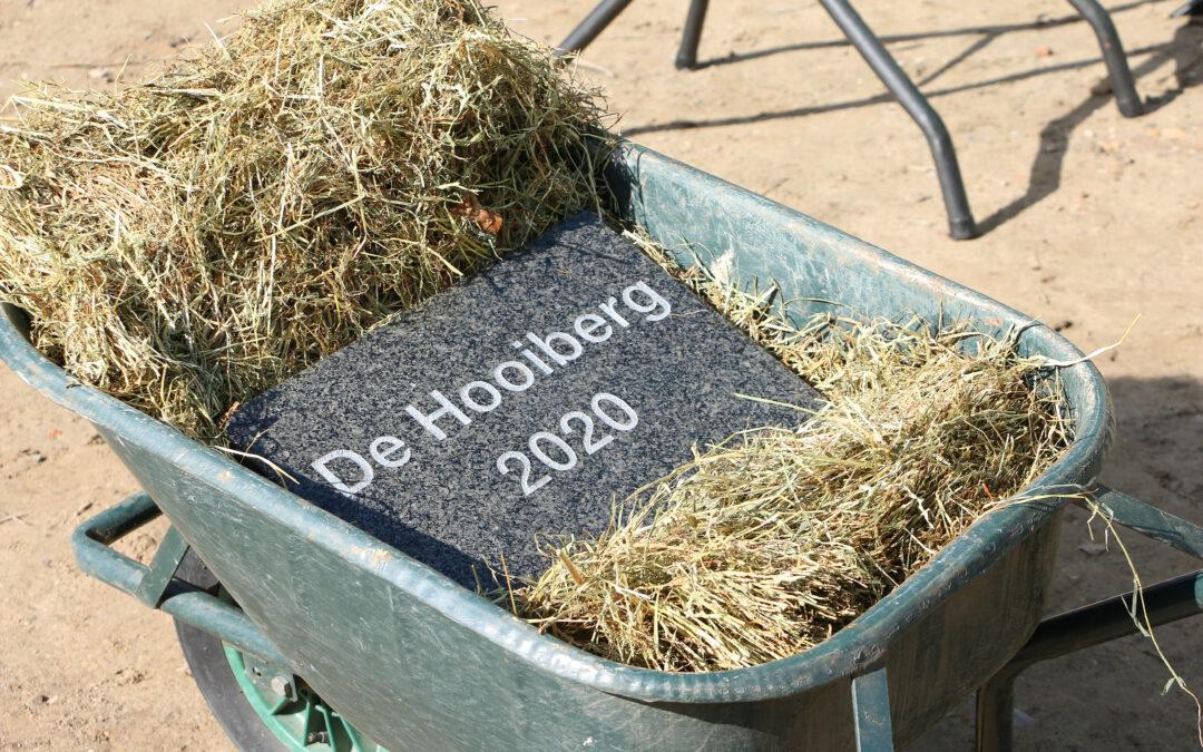 Feestelijke steenlegging markeert nieuwe mijlpaal De Hooiberg!